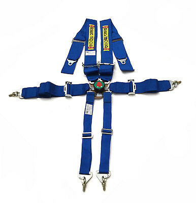 "Redwood 6 Point 3"" Seat Belt Safety Harness Road Rally Track Blue 1006-Bl"