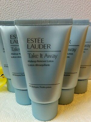 Lot of 6 Estee Lauder Take it away makeup remover lotion Total=6x30ml