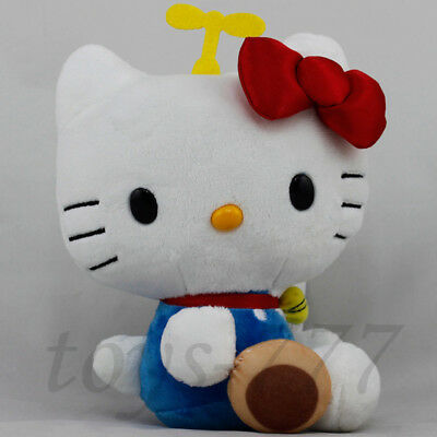 """Hello Kitty with Cookie Cartoon 7"""" Stuffed Animal Plush Soft Toy Cat Character"""