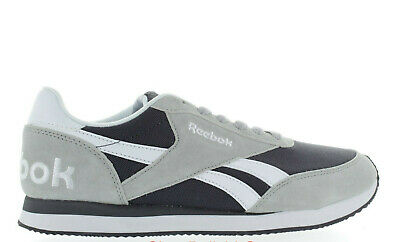 Men s Reebok Cl Jog 2Rs Bd5701 Lght Solid Grey black white Brand New  Deadstock 0a34d4cba