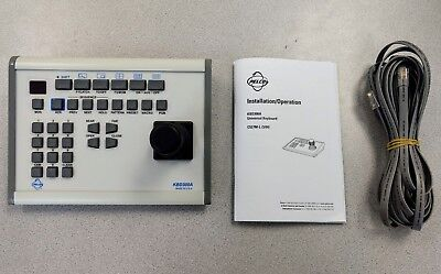 NEW Pelco KBD300A Universal Keyboard with cable and user manual