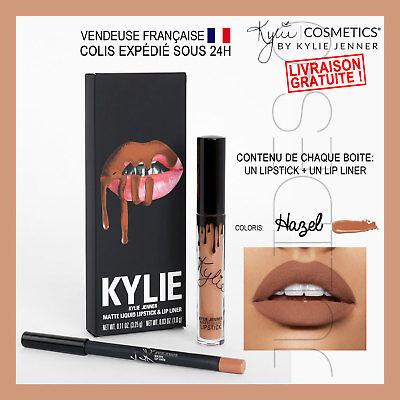 Maquillage make up Lip kit KYLIE JENNER 2017 Lipstick HAZEL Tenue Longue Durée