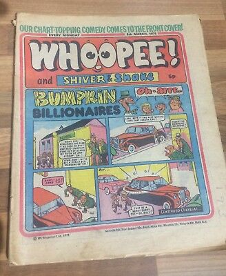 Whoopee! Comic March 8th 1975 School- Buy 2 Get 1 Free