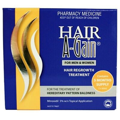 Hair A-Gain 60ml X 5 Months