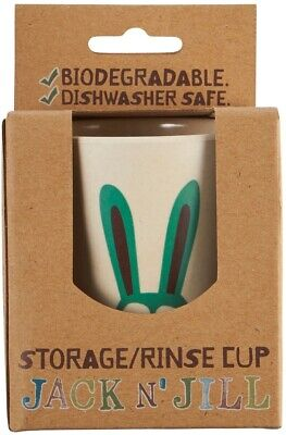 Jack N' Jill Storage/Rinse Cup - Bunny (Biodegradable Cup)