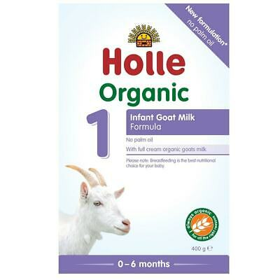 Holle Organic Infant Goat Milk Formula (From Birth) 400g