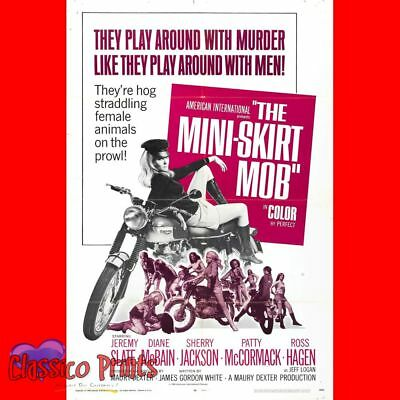 The Mini Skirt Mob Photo Poster Coffee Cup Canvas (MP2471)