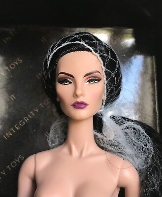 Fashion Royalty Elise Premiere Convention NUDE Workshop doll NRFB