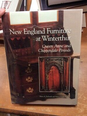 New England Furniture at Winterthur Queen Anne and Chippendale Periods 1997
