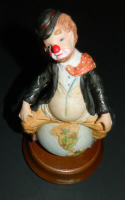Clown on Top of the World Music Box