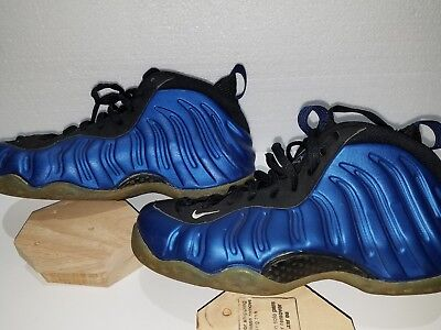 9d1ab05f5cf63 1997 Original Nike Air Foamposite One 1 Penny Neon Royal Blue White Black 9
