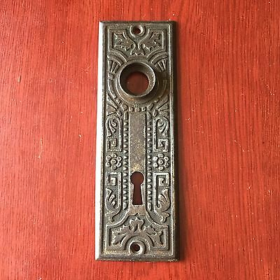Antique VINTAGE Art Noveau STAMPED   BACKPLATE