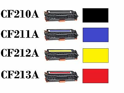 Toner Cartridge CF210A 131A Color Toners For HP Laserjet Pro 200 M251nw M276nw