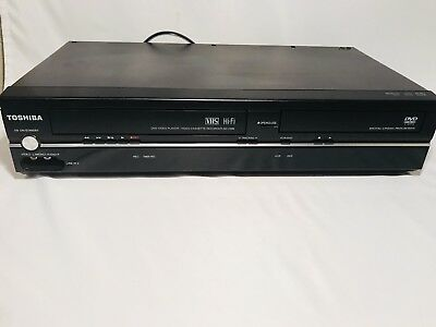 Toshiba SD-V296 DVD VHS Combo Player VHS Recorder, Tested, No Remote