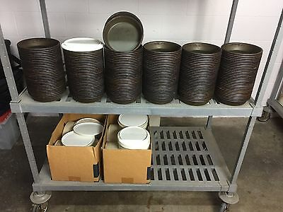 """6"""" MOLD PANS WITH LIDS, pizza, cake, restaurant, catering equipment"""