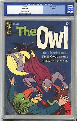 The OWL #1  CGC NM 9.4 - VERY OLD LABEL - BOSTON PEDIGREE - A GORGEOUS BOOK