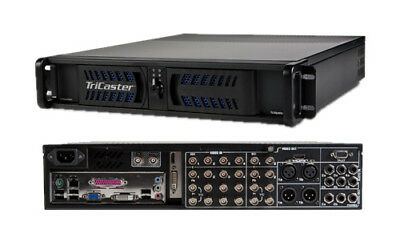 NewTek TriCaster TCXD 455 video switcher, Live Stream, Virtual Sets, ISOCorder+