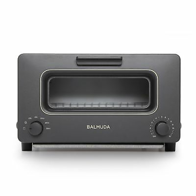 BALMUDA Steam Toaster oven  K01E-KG (Black) Japan Domestic Version New