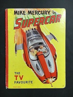 Supercar Rare Book Annual The T.v Favourite, 44 Pages