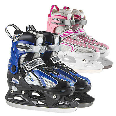 Ice Skating Boots Adjustable Shoes Girls Boys Shoes Blades Children Training