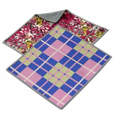 Carson Double Sided Microfiber Cleaning Cloth 2-Pack, Think Pink