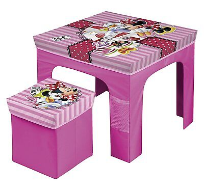 Set Mesa Y Taburete Plegable Minnie (13913)