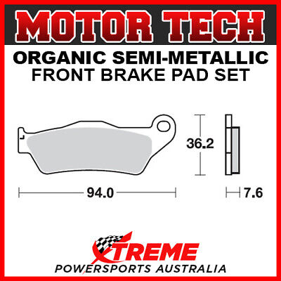 Motor Tech KTM 450 SX-F 2003-2018 Semi-Metallic Front Brake Pads