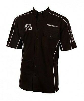 Shirt Planet Eclipse Official Tech schwarz Super Limited paintball.de Edition