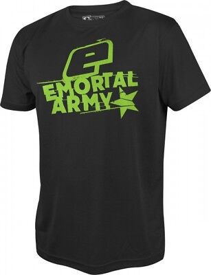T-Shirt Planet Mens Pro-Formance Emortal Army schwarz