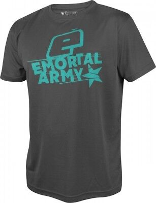 T-Shirt Planet Mens Pro-Formance Emortal Army grau