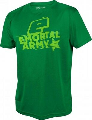 T-Shirt Planet Mens Pro-Formance Emortal Army grün
