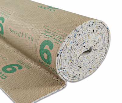 7, 8, 9, 10, 11 & 12mm Thick Cloud 9 Underlay Rolls UK Manufactured Luxury Feel
