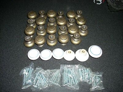 LOT OF***Vintage Brass Hardware Drawer Pull Knobs***PLUS** - FREE SHIPPING**