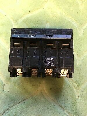 SIEMENS EQ9685 200A 4 Pole 120/240V CIRCUIT BREAKER