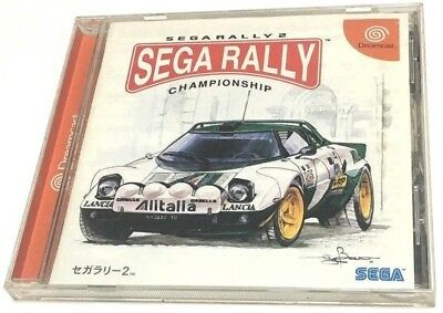 Sega Rally 2 Championship * SEGA DREAMCAST * JAPANESE * GOOD CLEAN CONDITION *