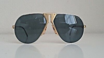 Vintage Boeing Carrera Aviator 5701 41 Small Gold MADE IN AUSTRIA