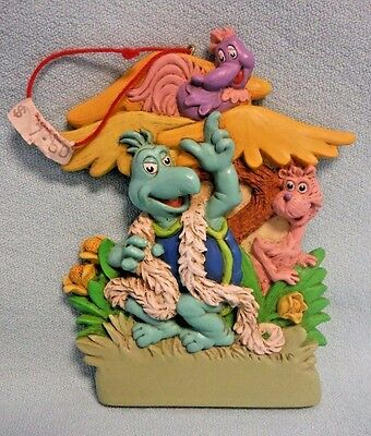 Dr. Seuss and Jim Henson Christmas Ornament 1998 Midwest of Cannon Falls *New*