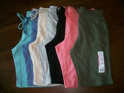 NWT Womens EDDIE BAUER Knit Bermuda Shorts 7 Colors Sizes S-M-L-XL-XXL