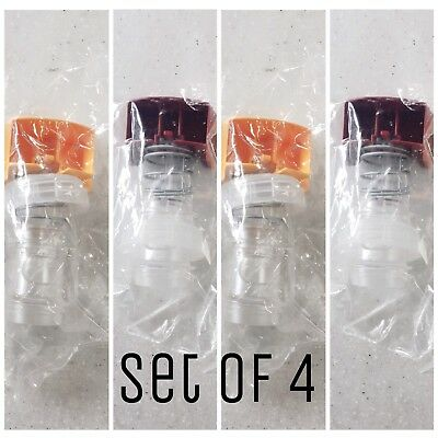 Gehl's Nacho Hot Top 2 Cheese & 2 Chili Bag Push Replacement Valve NEW Set Of 4