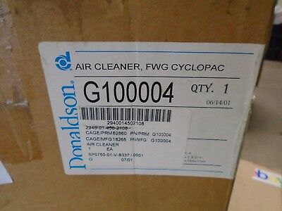 G100004 Donaldson Air Cleaner Assembly