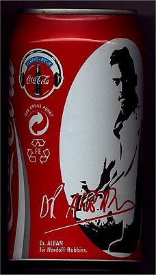 1 Coca Cola Dose Can 0,33l leer 1997 Deutschland, Always Music DR. ALBAN