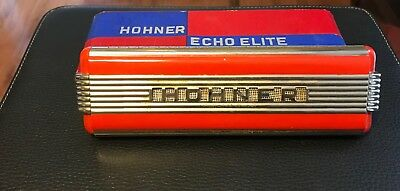 Hohner Echo Elite Vintage Art Deco Harmonica - Made in Germany in the 1930's