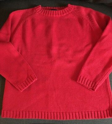 Gap Red Sweater Size 5-6 Boys