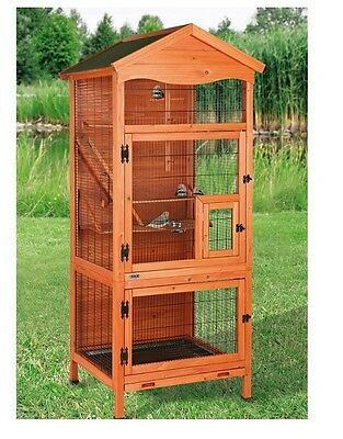 Aviary Bird Cage Outdoor Kit Panels Wire Portico Poultry Large Indoor Finches