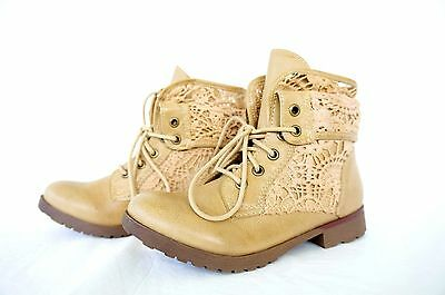 801f728fd7a ROCK & CANDY Hiking Women Footwear Round Toe Ankle Boots Booties Tan or  Black 5