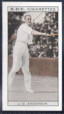 Phillips (Australia)-Whos Who In Sport (Double Sided)-#001- Anderson - Darcy