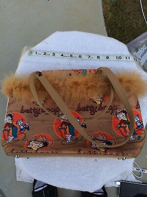 Betty Boop Cutest Cowgirl in Texas Purse Brand New unused very quality collectib