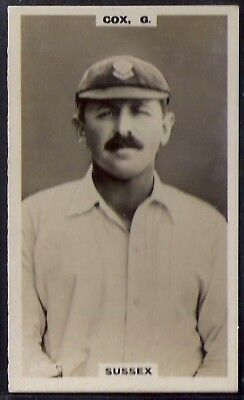 PHILLIPS-CRICKET ERS BROWN BACK F192-#055c- SUSSEX - COX