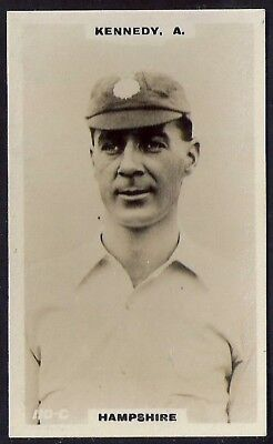 PHILLIPS-CRICKET ERS BROWN BACK F192-#110c- HAMPSHIRE - KENNEDY