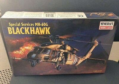 Minicraft Model Kit Blackhawk Special Services MH-60G 1:48 11622